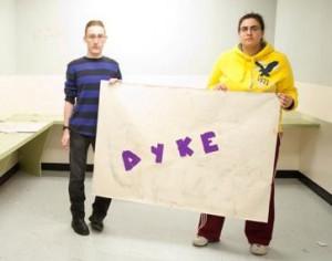Anti-gay Vandalism at QUEENS College?!