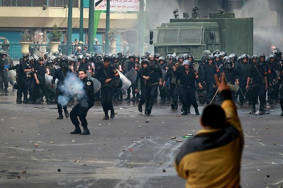 Egypt's Violent Gov't Turns Off The Entire Internet!