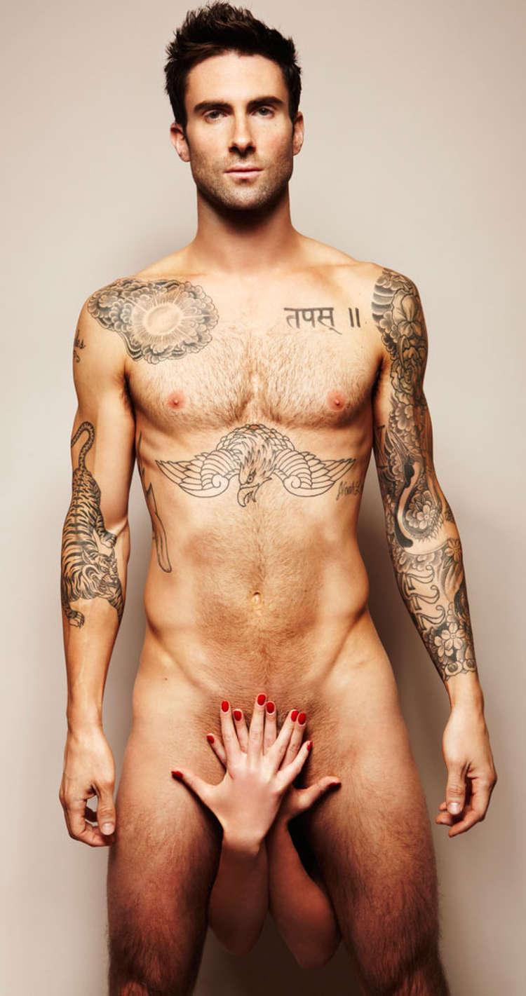 adam levine naked, cosmopolitan, maroon 5 naked