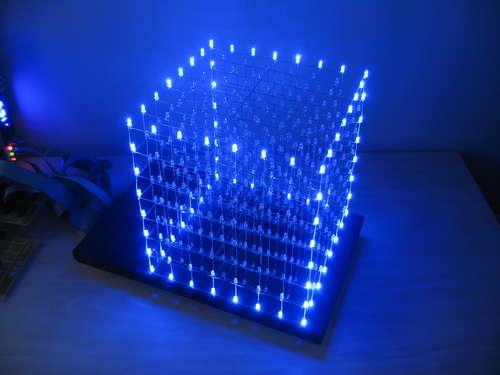 Build This DIY LED Cube!