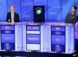 Man vs Machine on Jeopardy? Go Man!