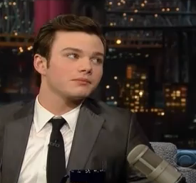 Don't Stick Tampons On Chris Colfer's Back