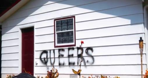 Homophobic Neighbor Burns Lesbians' Home Down On Their Anniversary