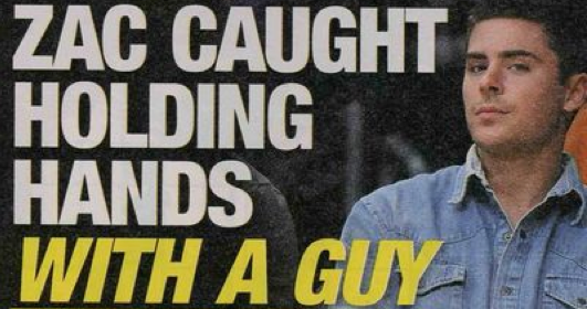 National Enquirer: Zac Efron Held a Boy's Hand – Gasp!