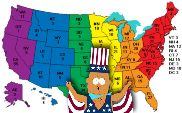 42% of Americans Live in States Recognizing Gay Unions