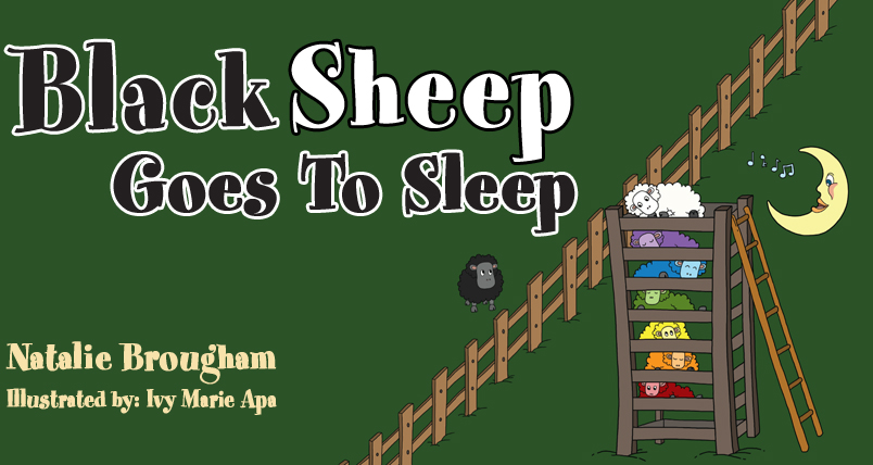 Gay-Friendly Giveaway: Black Sheep Goes To Sleep