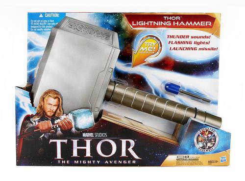Thor Lightning Hammer- OMG!