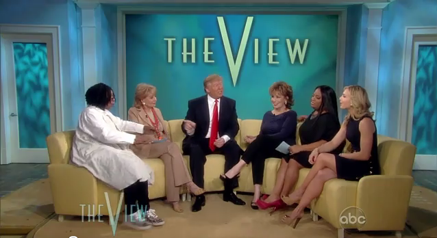 Whoopi Lets Loose on Donald Trump