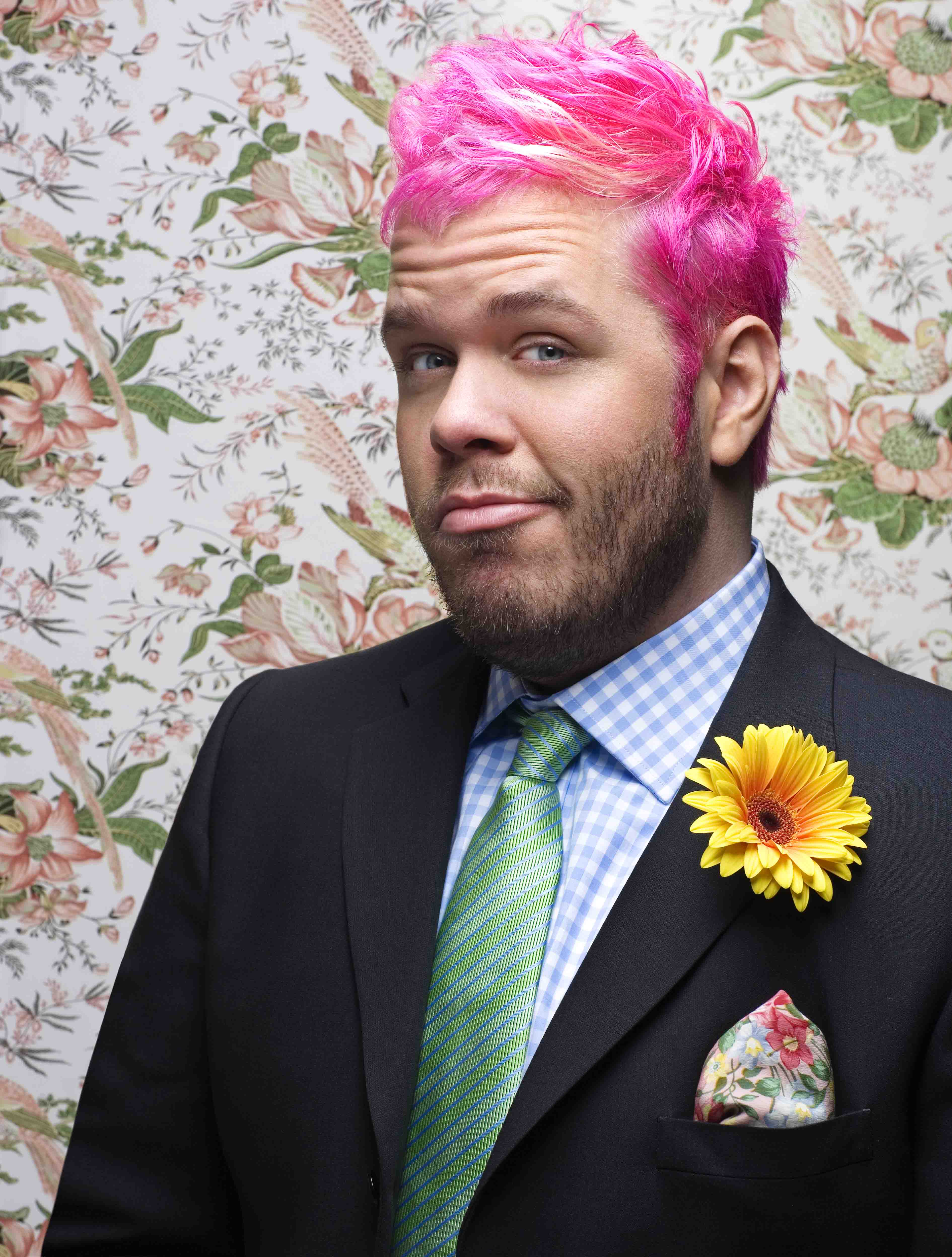 gay blog: the boy with pink hair, children's book, gay news, gay book
