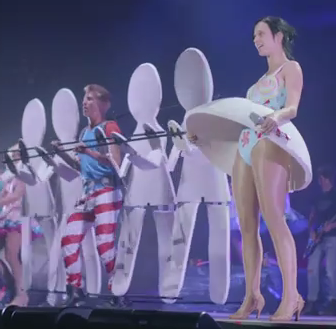 Behind The Scenes With Katy Perry