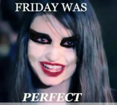 Rebecca Black Swan – Friday