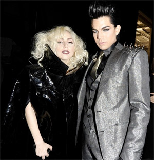 Did Lady Gaga Kick Drunken Adam Lambert Out of Her Birthday Party?