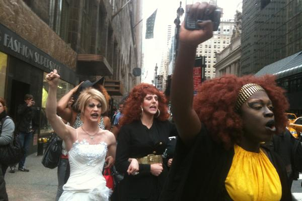Queer Activists Show NYC How It's Done: Shutting Down Streets For Gay Marriage