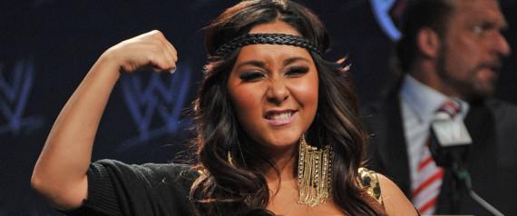 Snooki Body Slams the WWE at Wrestlemania 27!