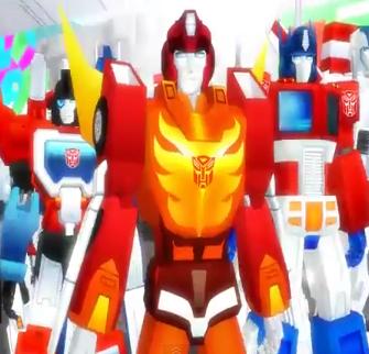 Transformers Dance To Thriller