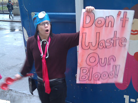 LGBT Groups in NYC Protest Gay Blood Ban: 'Don't Waste Our Blood!'