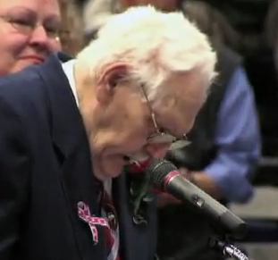 86-Year-Old WW2 Vet Stands Up For Gays