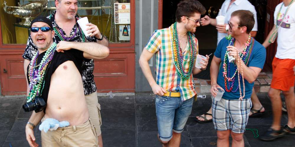 Truck Nutz, Boobs, Beads and Bunnies: New Orleans' Gay Easter