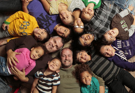Gay Dads Raise 12 Adopted Children