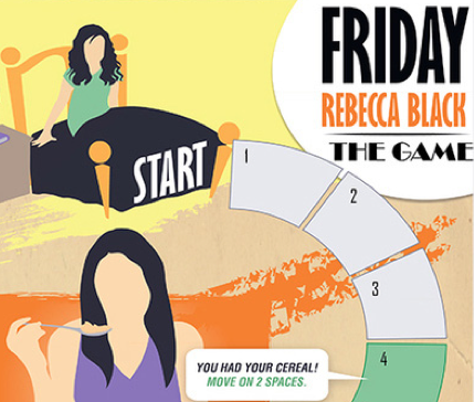 FRIDAY Rebecca Black: The Game