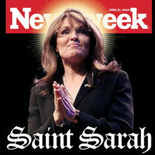 Sarah Palin Writes Email To Herself From God (Seriously)