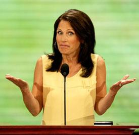 Anti-Gay Michele Bachmann Uses Katy Perry's Gay Anthem Firework For Campaign