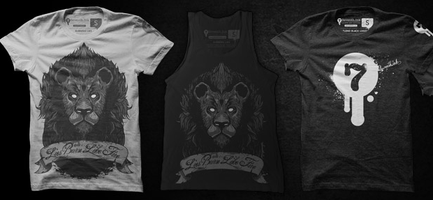 Win New Ink T-Shirts From Seventh.Ink Today