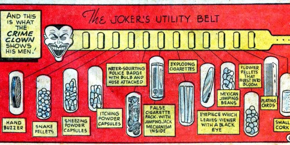 What's In the Joker's Utility Belt?
