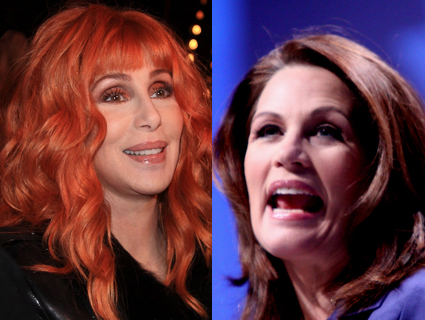 Cher (Still) Hates the Bachmanns; (Still) Having Trouble With Twitter & Spelling