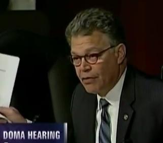 Al Franken Catches Focus of the Family Leader in Lie To Senate