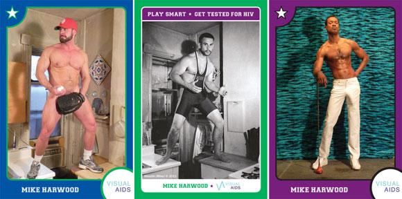 play safe cards, gay sex cards, safe sex trading cards