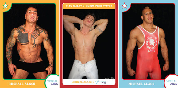 gay sex trading cards, play safe, play safe cards, gay cards