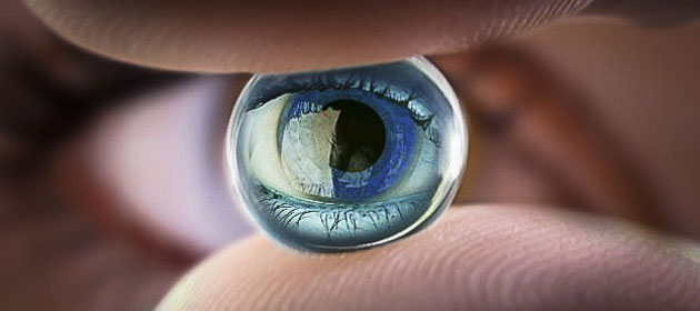 Zooming Contact Lenses Turn Windows Of The Soul Into Binoculars of Perversion