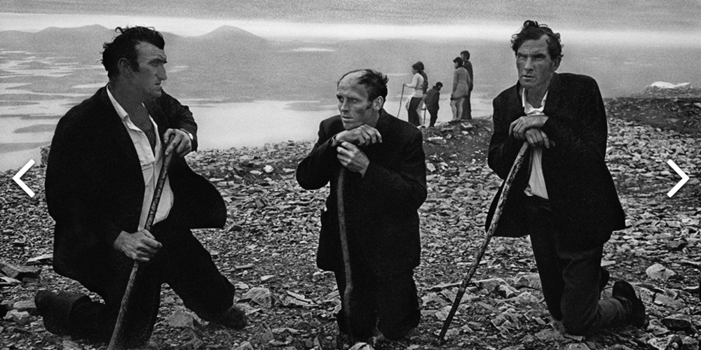 Magnum Photographer Josef Koudelka's Focused On Gypsies