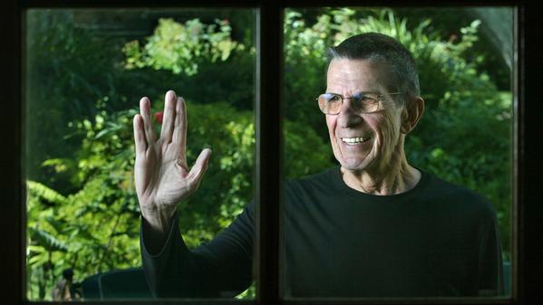 actor, mr. spock, star trek, leonard nimoy, rip, dies