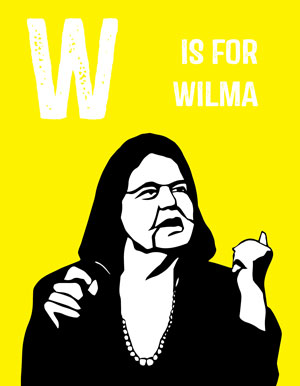 Rad American Women A-Z, Miriam Klein Stahl, drawings, feminists