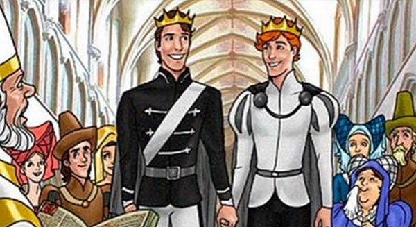 Disney Isn't Making a Gay 'Princes' Film, But Here Are 14 Disney Characters Gay Kissing