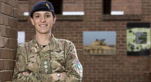 17 Pictures Of The British Army's Highest Ranking, Openly Transgender Officer