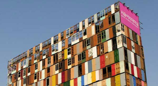 6 Awesome Places Built From Recycled Materials