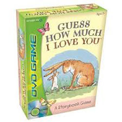 guess how much i love you, board game, valentine's game