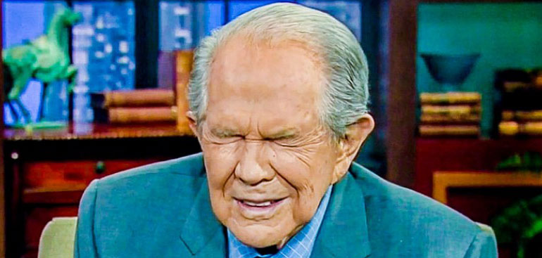 Pat Robertson Wants 'Filthy Things' Done To Him Right Now