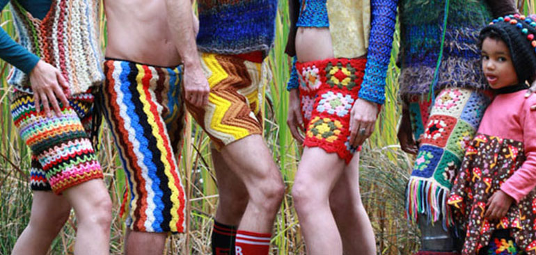 Troll Your Way Through Summer With These Fug-riffic Crocheted Shorts