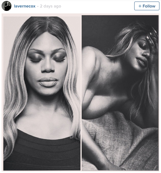 Laverne Cox Nude Photoshoot Allure Nudes Issue Orange is the New Black OITNB