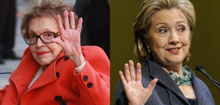 WTF: Hillary Just PRAISED Nancy Reagan's AIDS 'Advocacy'