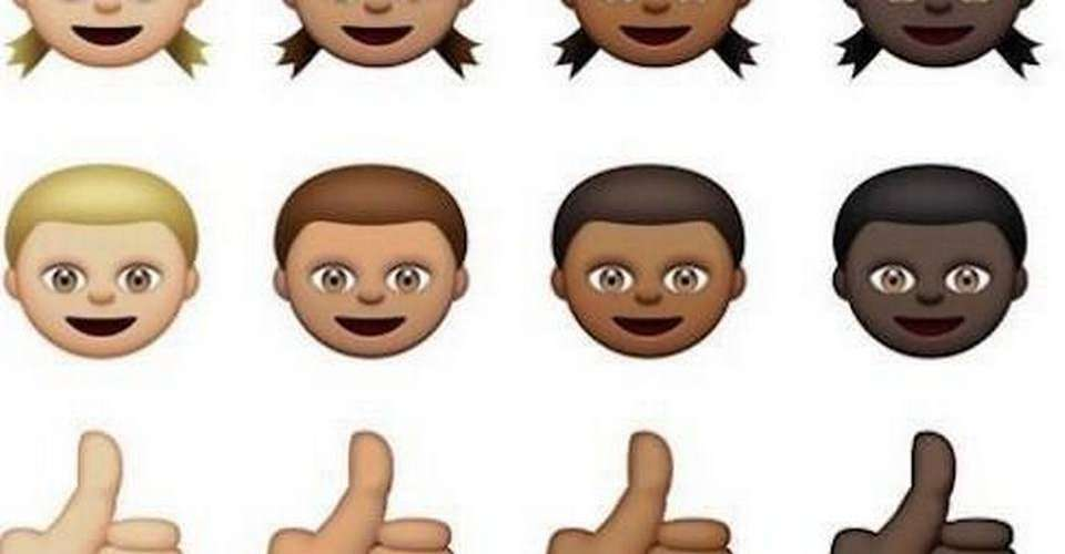 The New 'Diverse' Emojis are Here and They are Driving Everyone THREE BANANA EMOJIS