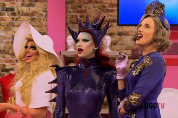rupaul's drag race, season 7, seven, logo, logo tv, drag queens, boring, naked