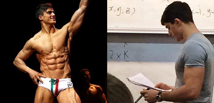 530K Internet Fans Fawn Over the Hottest Math Teacher in the World