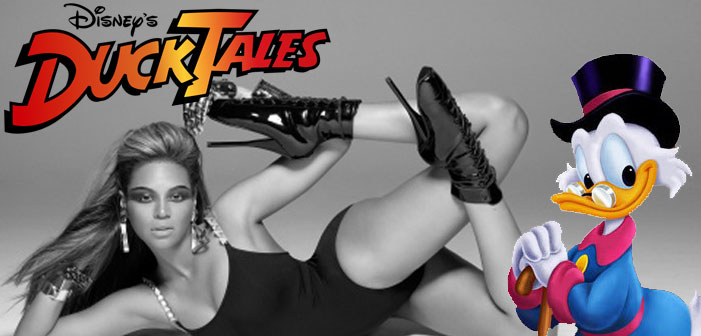 Your New Favorite Thing Is Beyonce Doing 'Single Ladies' To The 'DuckTales' Theme
