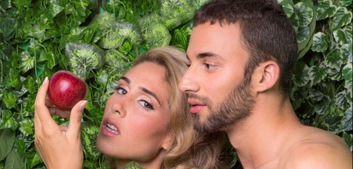 """Softcore: israelische AIDS Kampagne fährt auf mit """"Adam und Adam"""" und Transen-Göttin"""
