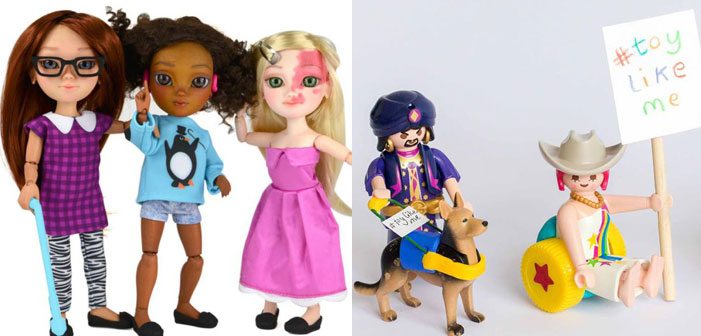 Toll! #ToyLikeMe sucht behindertes Spielzeug für die 150 Millionen behinderten Kinder auf dieser Welt